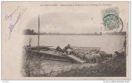 Le Vieux Port-Embarquement De Moutons Ou Le Passage D'un Troupeau.Coll.Renard.Edit. - Autres Communes