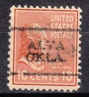 USA Precancel Vorausentwertung Preo, Locals Oklahoma, Alva 701 - Vereinigte Staaten