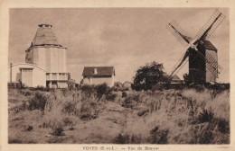 CPA - Voves - Vue De Beauce ( Moulin à Vent ) - Autres Communes