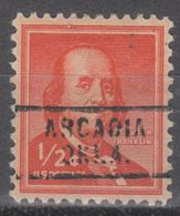 USA Precancel Vorausentwertung Preo, Locals Oklahoma, Arcadia 729 - Vereinigte Staaten