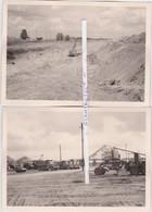 OORDEREN-2 ORIGINELE FOTO'S-AFBRAAK VAN HET DORP-01.08.1964-ZIE DE 2 SCANS-UNIEKE ARCHIEFSTUKKEN ! ! ! - Autres