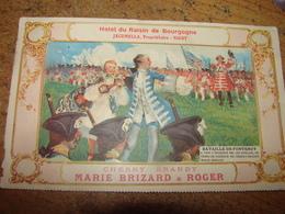 C.P.A.- Publicité Cherry Brandy Marie Brizard & Roger - Hôtel Raisin Bourgogne - Jacomella - 1917 - SUP (R82) - Advertising