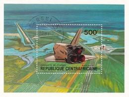 REPUBLIQUE CENTRAFRICAINE CONQUISTA DELLO SPAZIO 1981 - Repubblica Centroafricana