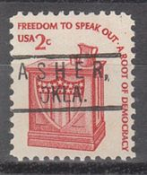USA Precancel Vorausentwertung Preo, Locals Oklahoma, Asher 801 - Vereinigte Staaten
