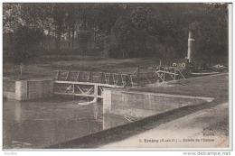 3.Eragny-Entrée De L'Ecluse.PF Paris.Péniche. - Eragny