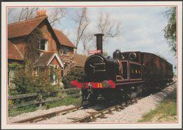 The Isle Of Wight Steam Railway At Havenstreet - J Arthur Dixon Postcard - Trains