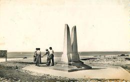 Dép 40 - Mimizan Plage - Face à L'océan - Le Monument - Assolant - Lefèvre - Loti - Semi Moderne Petit Format - état - Mimizan Plage