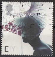 Gran Bretagna 2001 Sc. 1978 Cappello Hats Designed By E. Dai ReesViaggiato Used - Used Stamps