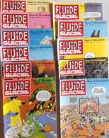 Lot 11 BD Fluide Glacial- Année 1998 - Boeken, Tijdschriften, Stripverhalen