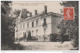 Mesland-Château De La Touche-Façade Sud Vue Prise Du Parc.Coll.Bottereau. - France