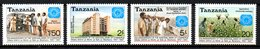 TANZANIE. N°305-8 De 1987. Banque/Coton. - Tanzanie (1964-...)