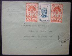 Madagascar Maintirano 1953 Lettre Pour Antanimena Révérend Père Procureur Mission Catholique: N°268 (x5)+314 - Lettres & Documents