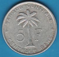 BELGISCH CONGO BELGE 5 FRANCS 1958 KM# 3 - Congo (Belgian) & Ruanda-Urundi