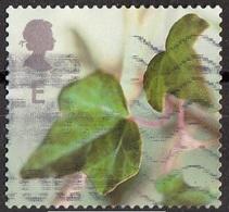 Gran Bretagna 2002 Sc. 2083 Natale Christmas Edera Ivy Viaggiato Used - Vegetazione