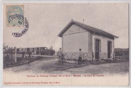 MARLES Environs De Fontenay-Trésigny (77 Seine-et-Marne) - La Gare Du Tramway De Jouy-le-Châtel - Train - Fontenay Tresigny