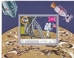 YEMEN  SPACE APOLLO 11 1969 - Yemen
