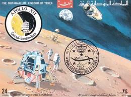 YEMEN  SPACE APOLLO 12 1970 - Yemen