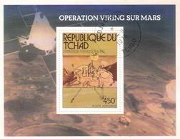 TCHAD OPERATION VIKING SUR MARS 1976 - Ciad (1960-...)