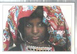 NIGERIA RITRATTO DI FANCIULLA BORORO.IMMAGINI DAL MONDO.-4586 - Afrique