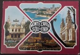 Monte Carlo Souvenir - 107 - Principato Di Monaco - Viaggiata 1972 - (2405) - Monte-Carlo