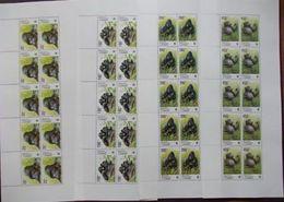 (WWF-310) W.W.F. Congo Kinshasa MNH Gorilla / Monkey MNH Perf Sheetlet 2002 - W.W.F.