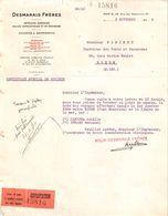 Document Du 05/11/1934 DESMARAIS Frères - Pétroles Essences Huiles - Rue Des Mathurins Paris 75 - France