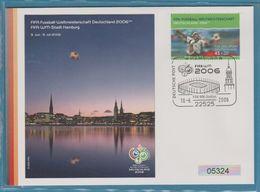 FIFA FOOTBALL DEUTSCHLAND 2006 WM STADT HAMBURG - [7] República Federal