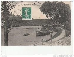 17.Hennebont-Ecluse De Polvern Et Le Chemin De Halage-Artaud Nozans. - Hennebont