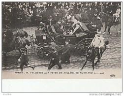 Rouen-M.Fallieres Aux Fêtes Du Millenaire Normand.ELD. - Rouen