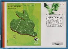 FIFA FOOTBALL DEUTSCHLAND 2006 WM STADT NÜRNBERG - FDC: Enveloppes