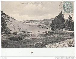 Carteret-La Mer De Sable Et La Route De Hattainville. - Carteret