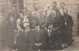 Moldova - Bessarabia - Com. Razeni - Ialoveni - Preoti Ortodocsi Cu Familiile Lor - Moldova