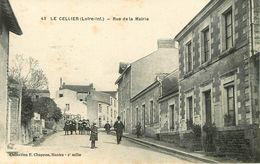Dép 44 - Le Cellier - Rue De La Mairie - état - Le Cellier