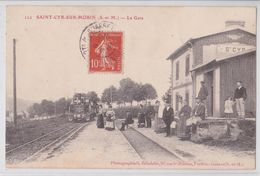 SAINT-CYR-SUR-MORIN (77 Seine-et-Marne) - Train En Gare - Brindelet - France