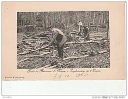 Forêt De Beaumont Le Roger-Exploitation De L'Ecorce-Coll.Walter. - Beaumont-le-Roger