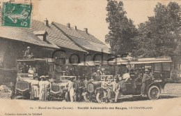 France - Le Chatelard - Societe Automobile Des Bauges - Le Chatelard