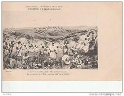Expo.Univ.Paris 1900.Colonie De Madagascar-Panorama De Tananarive.Combat De Tsarasotra. - Madagascar