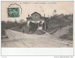49.Viroflay-La Maison Forestiere Et Route De Velizy.ELD. - Viroflay