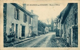 CREUSE SAINT SULPICE Les CHAMPS Route D'Ahun - France