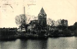 Giessen, Schlachthaus, 1912 Nach Homberg Versandt - Giessen