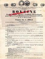 89- SENS-RARE PUBLICITE  LABORATOIRES EMILE JANELLE- PHARMACIEN HOPITAUX PARIS- BOVEINE- VETERINAIRE VETERINAIRES - Documents Historiques