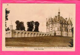Cpa  Carte Postale Ancienne - Villersexel Chateau De Bournel - France