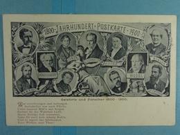 1800 Jahrhundert Postkarte 1900 Gelehrte Und Forscher 1800-1900 - Familles Royales