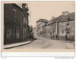 Landevant-Rue De La Gare.Papeterie Briand. - Francia