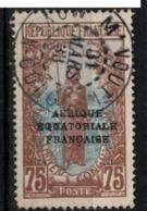 CONGO     N° YVERT  :    85   ( 32 )      OBLITERE       ( S D ) - Französisch-Kongo (1891-1960)