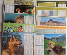 Lot 10 Calendriers (1967 à 1981) - Calendars