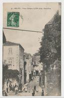 CPA Belvès - Vieux Chateaux Du XVe Siècle - Grand'Rue - N°33 - France