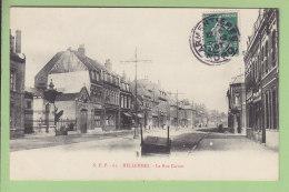 HELLEMMES Lille : La Rue Carnot. TBE. 2 Scans. Edition S E P - Altri Comuni