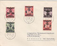 General Gouvernement Lettre De Krakau 1940 - 1939-44: 2. WK