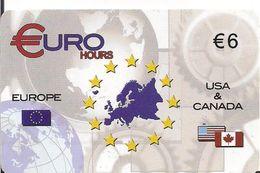 TARJETA PRE -PAID  EURO - Tarjetas Telefónicas